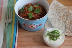 Masala with lamb