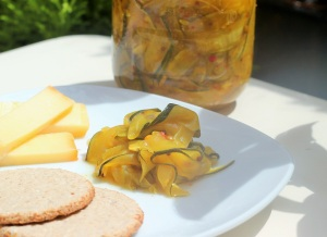 Courgette pickle_2
